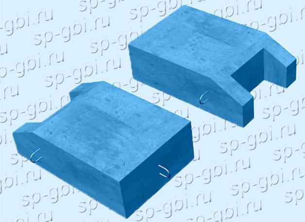 Блок упора Б-9, блок упора Б-9а