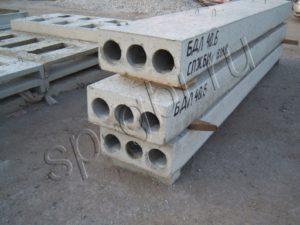 Блок БДЛ 40.6 (плита УБК-9а), блок БДЛ 20.6
