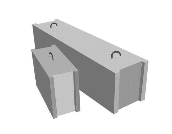 Фундаментные блоки ФБС 9-6-6