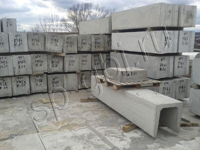 Фундаментные блоки ФБС 12-6-6