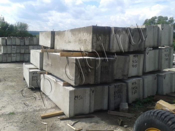 Фундаментные блоки ФБС 12-5-6