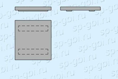 Конструкция крышки ЛАД 0300.100