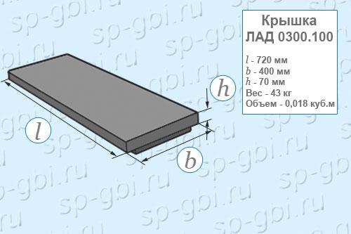 Крышка ЛАД 0300.100