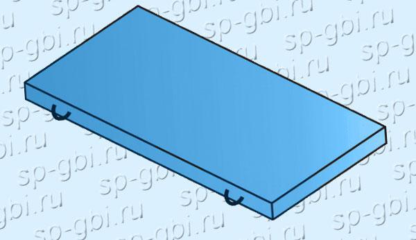 Плита П 10.5 (плита УБК-5 )