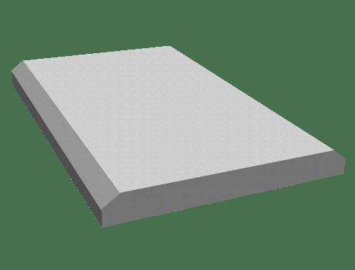 Плита укрепления П-1, плита укрепления П-2