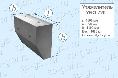 Утяжелитель УБО-720