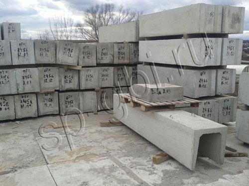 Фундаментные блоки: размеры и цена за штуку