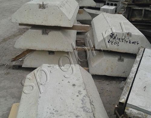 Фундаментные бетонные блоки: размеры и цены