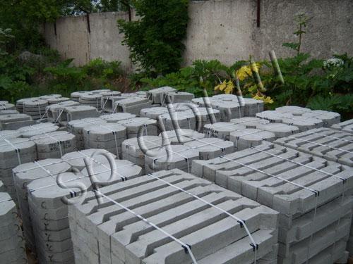 укрепление откосов плитами
