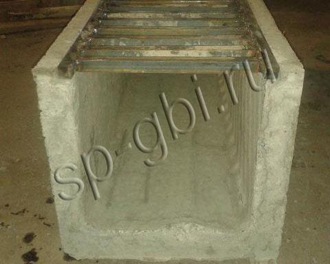 водоотводные лотки бетонные с решетками цена