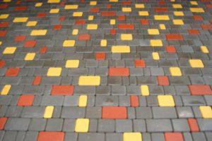 Пример укладки плитки Старый город - 1