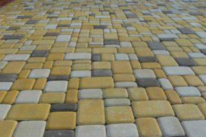 Пример укладки плитки Старый город - 9